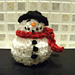 Snowman (chocolate cover) decoration pattern