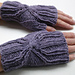 Interlaced Mitts pattern