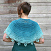 Ice Crystals Capelet pattern
