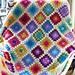 Colourful Granny Square Blanket pattern