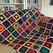 """Lovely Lace 6"""" Afghan Square pattern"""