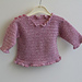 Baby Ruffle Sweater pattern