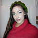 Ashley's Slouchy Cabled Beret pattern