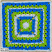 Southern Summertime Square pattern