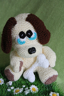 DIY Crochet Amigurumi Puppy Dog Stuffed Toy Free Patterns | Diy ... | 320x213