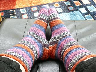 Rainforest Socks