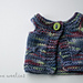 Flutterfly Doll Vest pattern