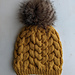 Switchback Cable Beanie pattern