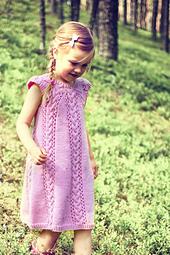 Girl`s Dress Novita 7 Veljestä Novita Knits
