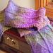 Choke (silk garden scarf) pattern