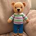 Bertie Bear Toy pattern