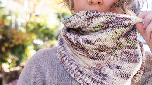 Yarn by I Feel Like Dyeing, knit by Anna-Lisa