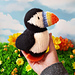 Barry the Puffin pattern
