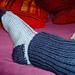 Leg Warmer Socks pattern