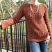 Lace Cable Rib Pullover pattern