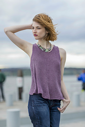 Bellingham Tank from Knitted Tanks and Tunics by Angela Hahn