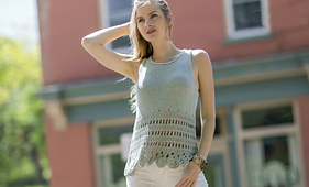 Livonia from Knitted Tanks and Tunics by Angela Hahn