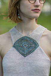 Roanoke from Knitted Tanks and Tunics by Angela Hahn