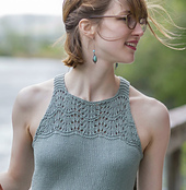 Sayre from Knitted Tanks and Tunics by Angela Hahn