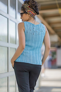 Sedalia from Knitted Tanks and Tunics by Angela Hahn
