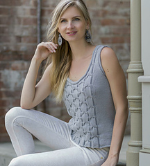 Sheridan from Knitted Tanks and Tunics by Angela Hahn