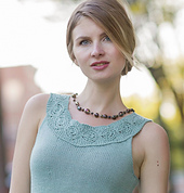 Galena from Knitted Tanks and Tunics by Angela Hahn