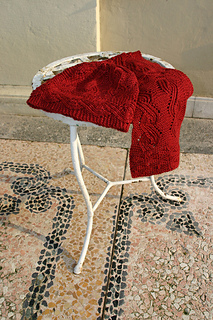 Cinnabar scarf  & hat