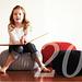 Pouf, foot stool, big pillow pattern