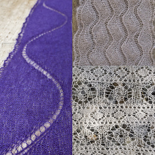 Three Lace Scarves