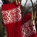 Rød Blomst pattern