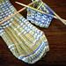 Rib Tips Socks pattern