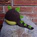Dinosaur Earflap Hat pattern