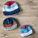 Scrappy Colourblock Hat pattern