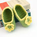B02 Flower Slippers pattern