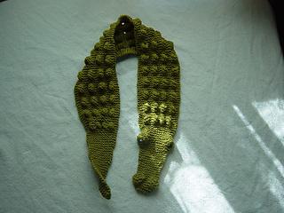 baby alligator scarf