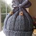 Rib-Knit Baby Hat pattern