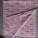 Peek-a-Boo Baby Blanket pattern