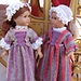 Tea Time Colonial Dress for American Girl pattern