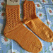 Lace Rib Socks pattern