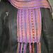 Knit Weave Scarf pattern