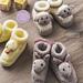 Animal Antics Baby Booties pattern