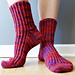 Left Twist Rib Socks pattern