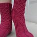 Apricity Socks pattern