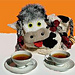 Lizzy the Cow tea cozy pattern