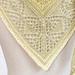 Diamond Fade Shawlette pattern