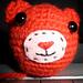 Cute Bear Head for Keychain pattern
