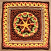 Hestia Afghan Square pattern