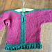 Chain Stitch Hexagon Sweater pattern