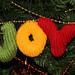 JOY Christmas Ornament pattern