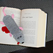 Squashed Rat Knitted Bookmark pattern
